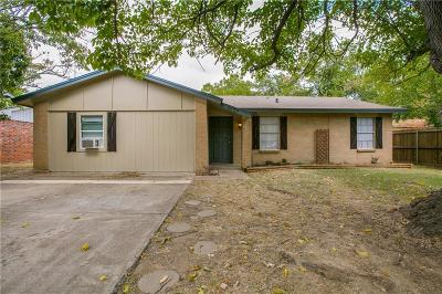 Denton Single Family Home For Sale: 3029 Montclair Place