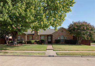Plano Single Family Home For Sale: 1101 Colmar Drive