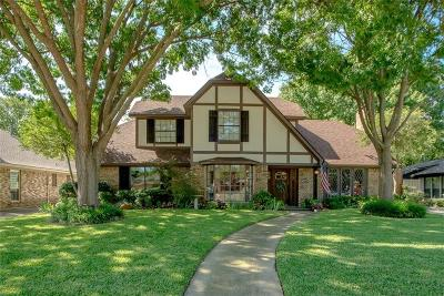 Plano Single Family Home Active Option Contract: 1620 Idyllwild Court