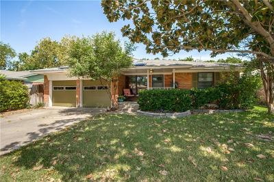 Richardson Single Family Home Active Contingent: 1240 Delmont Drive