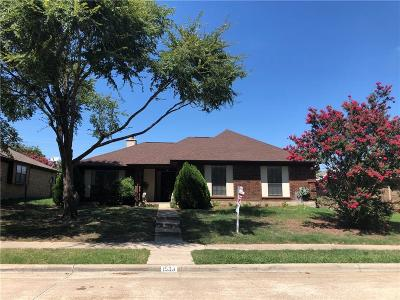 Lewisville Single Family Home For Sale: 1533 Winter Park Lane