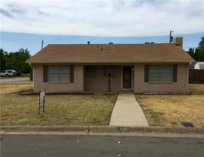 Euless Residential Lease For Lease: 1601 Sagebrush Trail