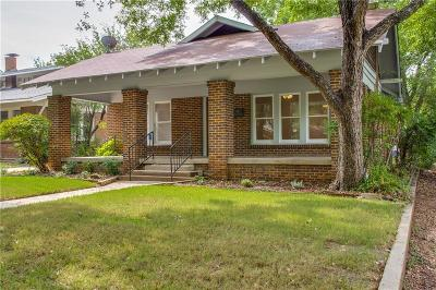 Single Family Home Active Option Contract: 2309 Irwin Street