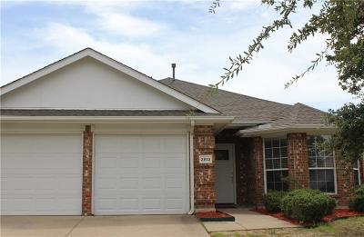 Mesquite Single Family Home For Sale: 2812 Shelduck Drive