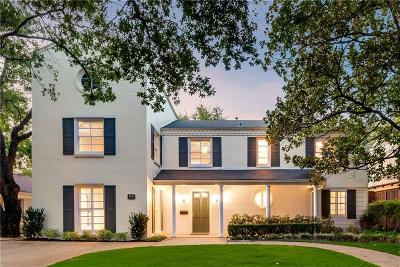 Highland Park Single Family Home For Sale: 4640 Southern Avenue