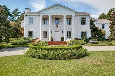 Dallas Single Family Home For Sale: 4665 Meadowood Road