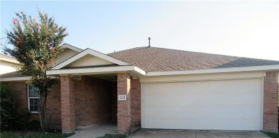 Terrell Single Family Home For Sale: 223 Willow Creek Lane