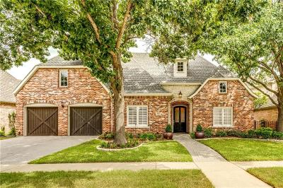 Plano TX Single Family Home Active Option Contract: $599,900