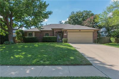 Grapevine Single Family Home Active Option Contract: 2126 Wedgewood Drive