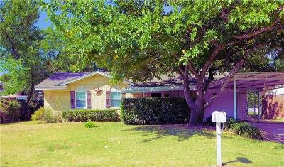 Kaufman Single Family Home For Sale: 1596 Anthony Street