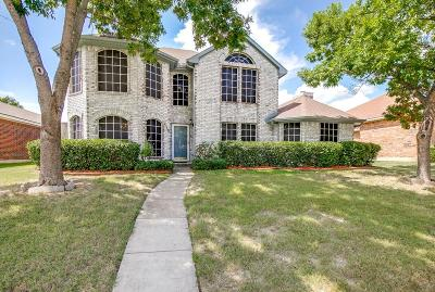 Mesquite Single Family Home Active Option Contract: 810 Spring Mills Road