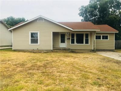 Haltom City Single Family Home Active Option Contract: 4212 Voncille Street