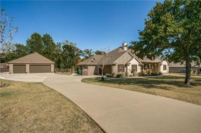 Aubrey Single Family Home For Sale: 6700 Blackjack Oaks Road
