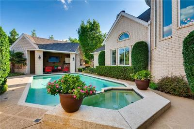 Colleyville Single Family Home Active Option Contract: 6005 Highland Hills Lane