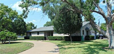 Stephenville Single Family Home For Sale: 2490 W Mimosa