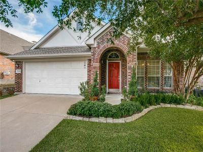 Mckinney Single Family Home Active Option Contract: 5416 Ivyridge Lane