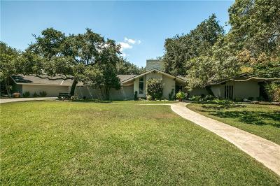 Single Family Home For Sale: 6191 Preston Haven Drive
