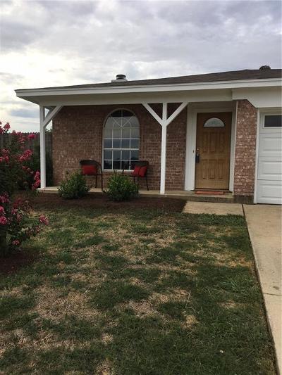 Watauga Single Family Home Active Option Contract: 6137 Grayson Court