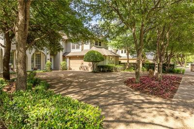 Single Family Home For Sale: 5810 Bent Creek Trail