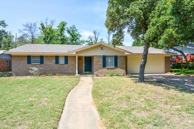 Stephenville TX Single Family Home For Sale: $162,000