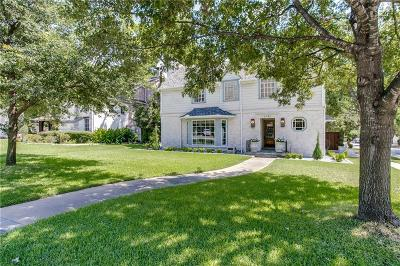 Highland Park, University Park Single Family Home For Sale: 2731 Lovers Lane