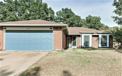 Euless Single Family Home For Sale: 603 Ascot Drive