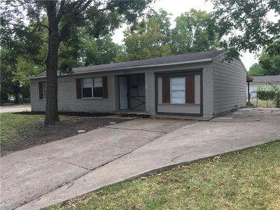 Mesquite Single Family Home Active Option Contract: 4723 Harper Drive