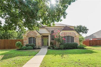 Lewisville Single Family Home Active Option Contract: 1915 Sunrise Trail