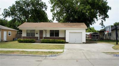 Haltom City Single Family Home Active Option Contract: 4904 Jerri Lane