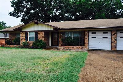 Denison Single Family Home For Sale: 2520 Lockloma Street