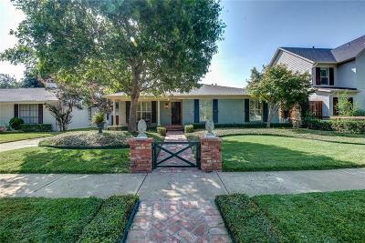 Dallas Single Family Home For Sale: 6812 Inverness Lane
