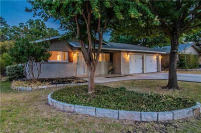 Haltom City Single Family Home Active Option Contract: 4216 Field Street