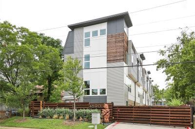 Dallas Townhouse For Sale: 4690 Monarch Street #60