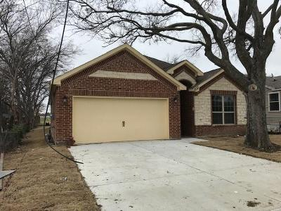 Grand Prairie Single Family Home For Sale: 1833 Holland Street