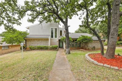 Denton Single Family Home For Sale: 2108 Woodbrook Street