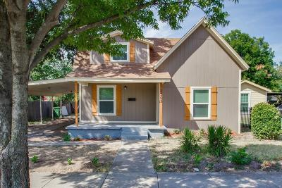 Fort Worth Single Family Home For Sale: 1305 Gould Avenue
