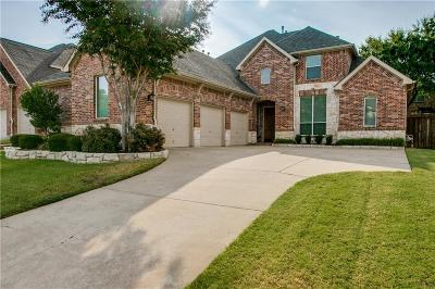 Flower Mound TX Single Family Home Active Option Contract: $415,000