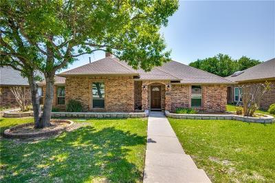 Carrollton Single Family Home Active Option Contract: 3712 Remington Drive