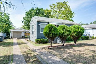 Dallas Single Family Home For Sale: 4308 Western Street