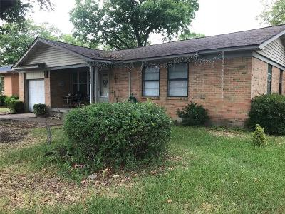 Garland Single Family Home Active Option Contract: 2509 Maple Drive