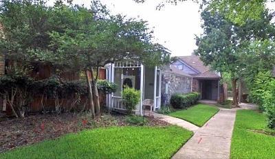 Dallas Single Family Home Active Contingent: 10843 Gable Drive
