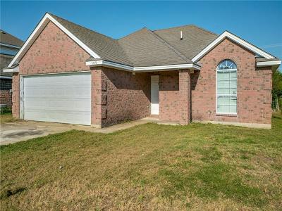 Garland Single Family Home Active Option Contract: 1209 Highland Creek Circle