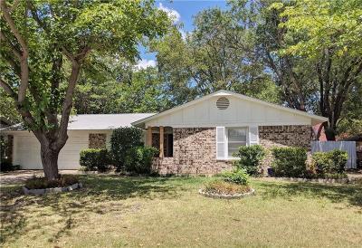 Haltom City Single Family Home Active Option Contract: 5609 Ammons Street