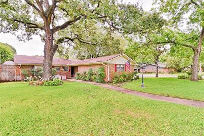 Corsicana Single Family Home Active Option Contract: 607 Lexington Drive