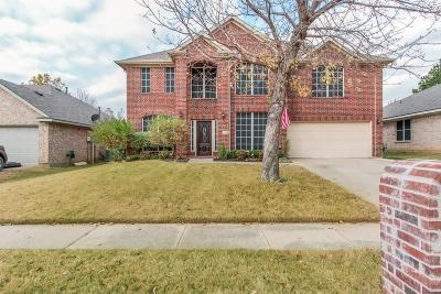 Denton Single Family Home For Sale: 7016 Riverchase Trail