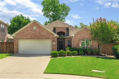 Coppell Single Family Home Active Option Contract: 736 Kilbridge Lane