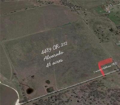 Alvarado Residential Lots & Land For Sale: 4489 County Road 212