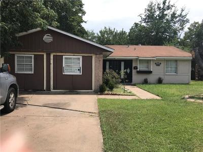 Dallas Single Family Home For Sale: 1931 Oak Hill Place