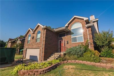 Lewisville Single Family Home For Sale: 606 Blair Drive