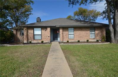 Carrollton Single Family Home Active Option Contract: 1703 Mayflower Drive